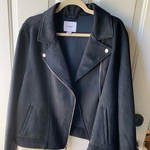 Old Navy Black Motto Jacket